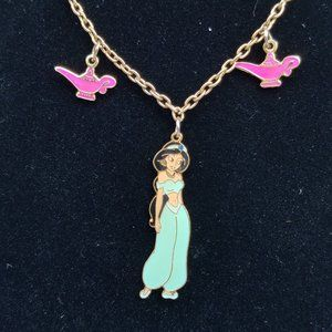 Disney Aladdin Jasmine Vintage Necklace